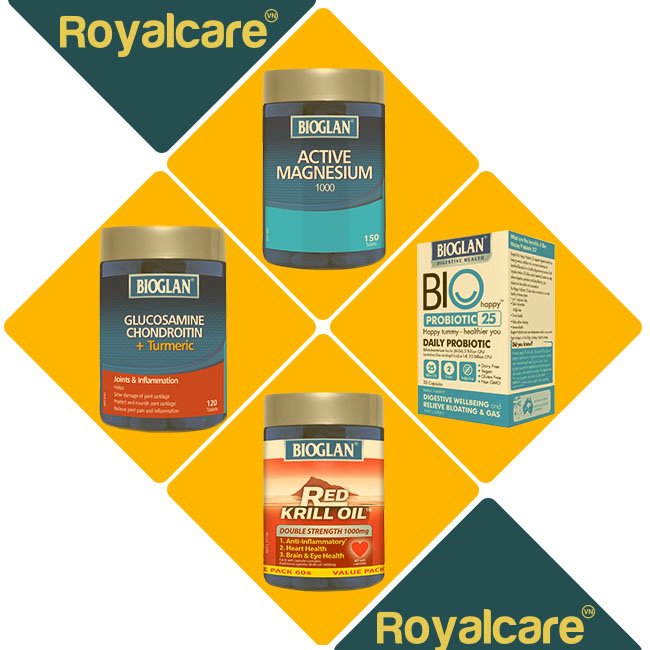Bioglan được nhập khẩu bởi royal care việt nam