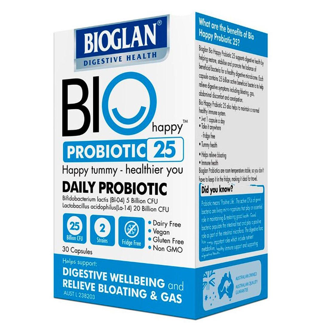 Advantage Bioglan BioHappy Probiotic 25B
